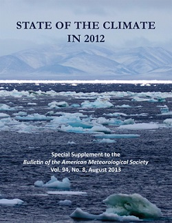 Cover of State of the Climate in 2012