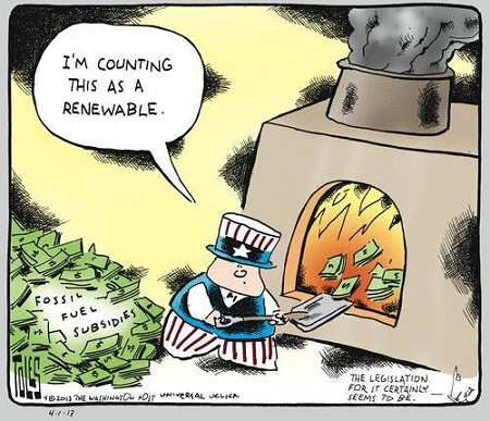 America spends over $20bn per year on fossil fuel ...