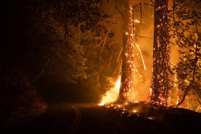 California Wildfire Aug 2020