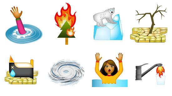 Climate Change Emojis