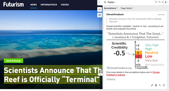 2018 Climate Feedback 1