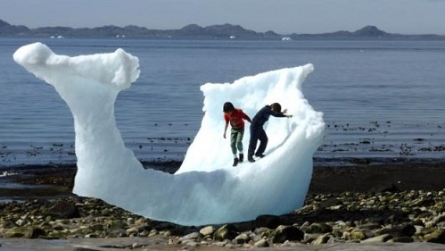 Iceberg, Nuuk, Greenland June 2016