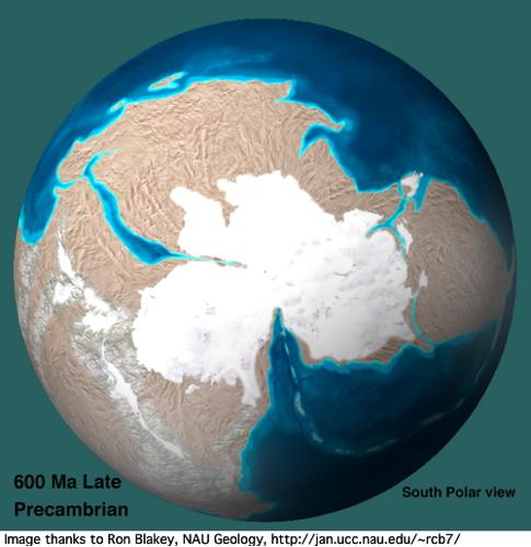 precambrian globe