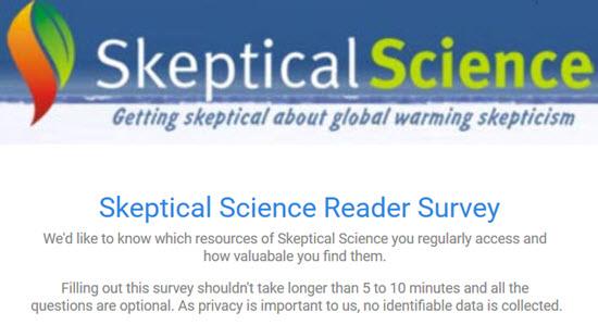SkS Reader Survey