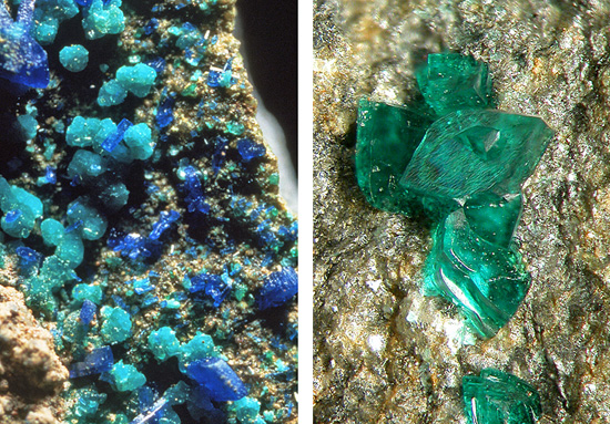post-mining secondary minerals