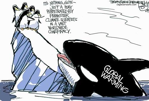 Global warming satire essay
