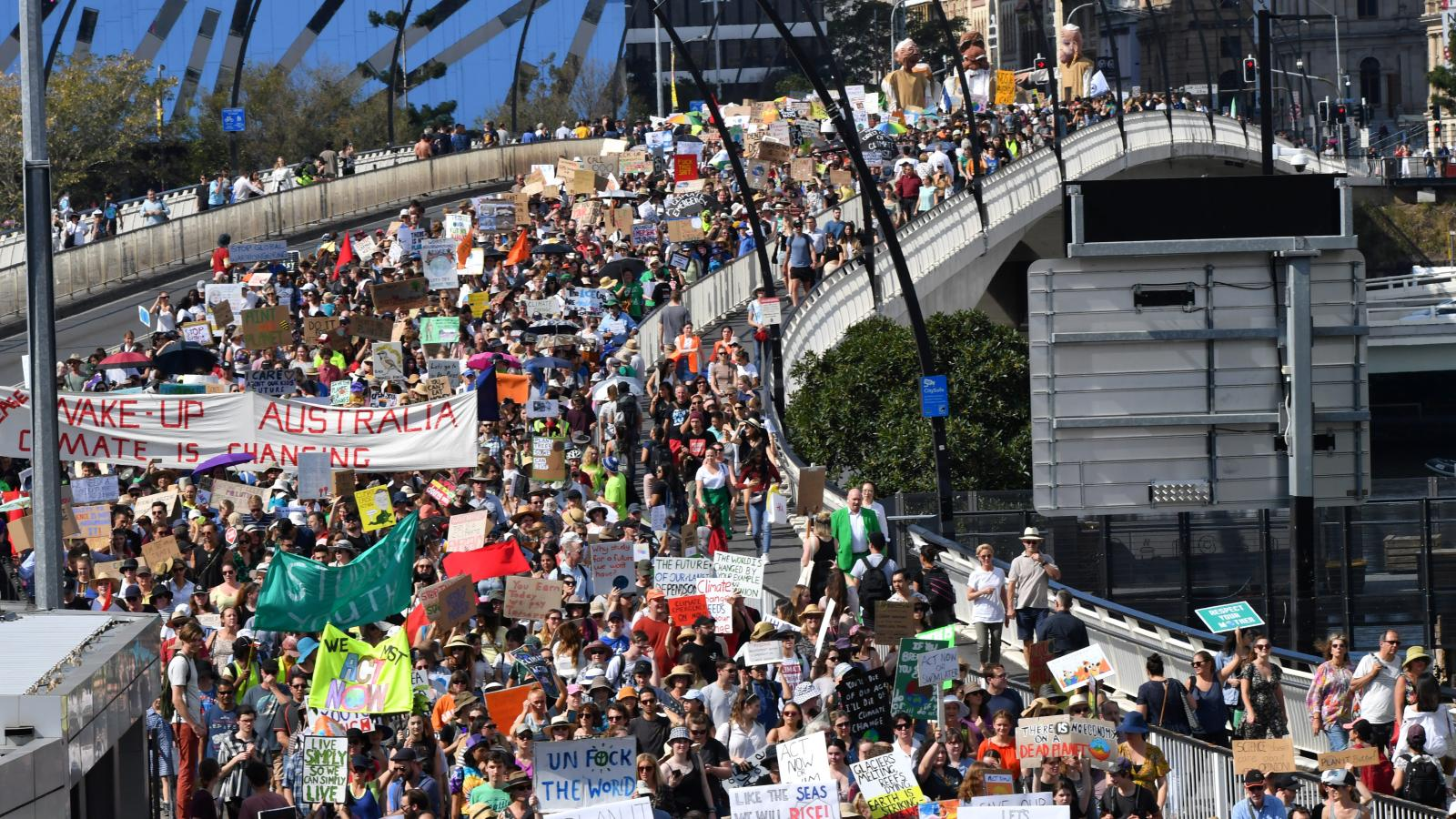 Strike 4 Climate, Brisbane AU, 09-20-19