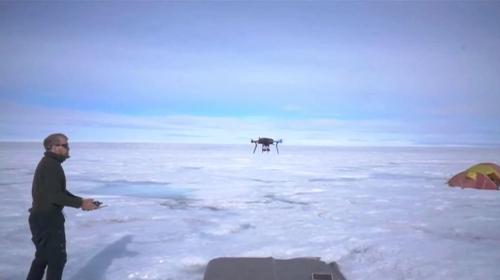 4DarkSnow-drone