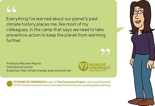 97 Hours of Consensus: Mareen Raymo