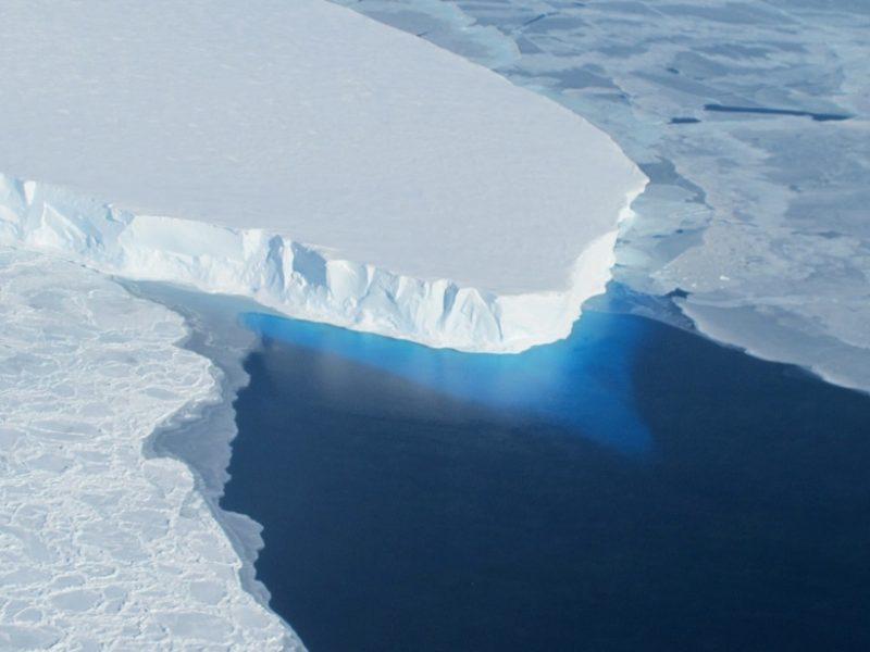 Antarctica Thwaites glacier NASA