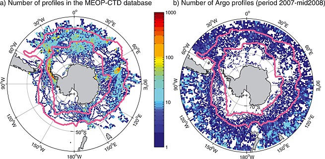 Antarctica TS-Profiles