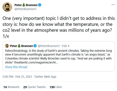 Brannen's 1st tweet