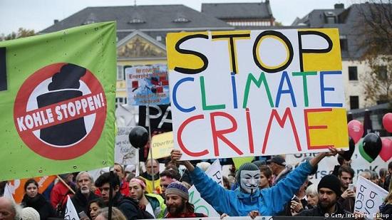 COP23 Bonn Anti Coal March