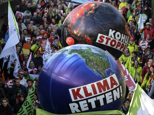 COP 23 Bonn - Protestors