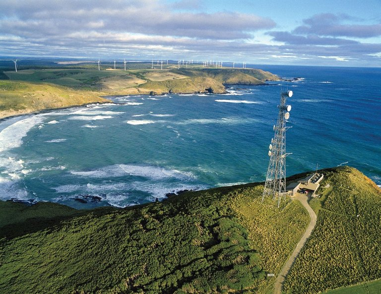 Cape Grim Baseline Air Pollution Station in Tasmania