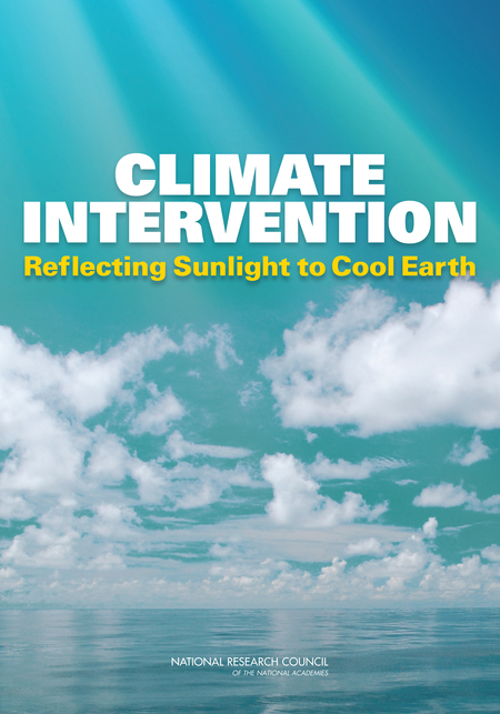 NAS Report: Climate Intervention - Reflecting Sunlight