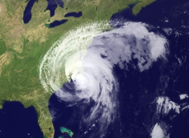 NASA Satellite Photo of Hurricane Irene