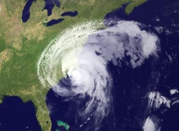NASA Satellite Photo of Hurricane Irene