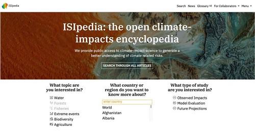 ISI-pedia website