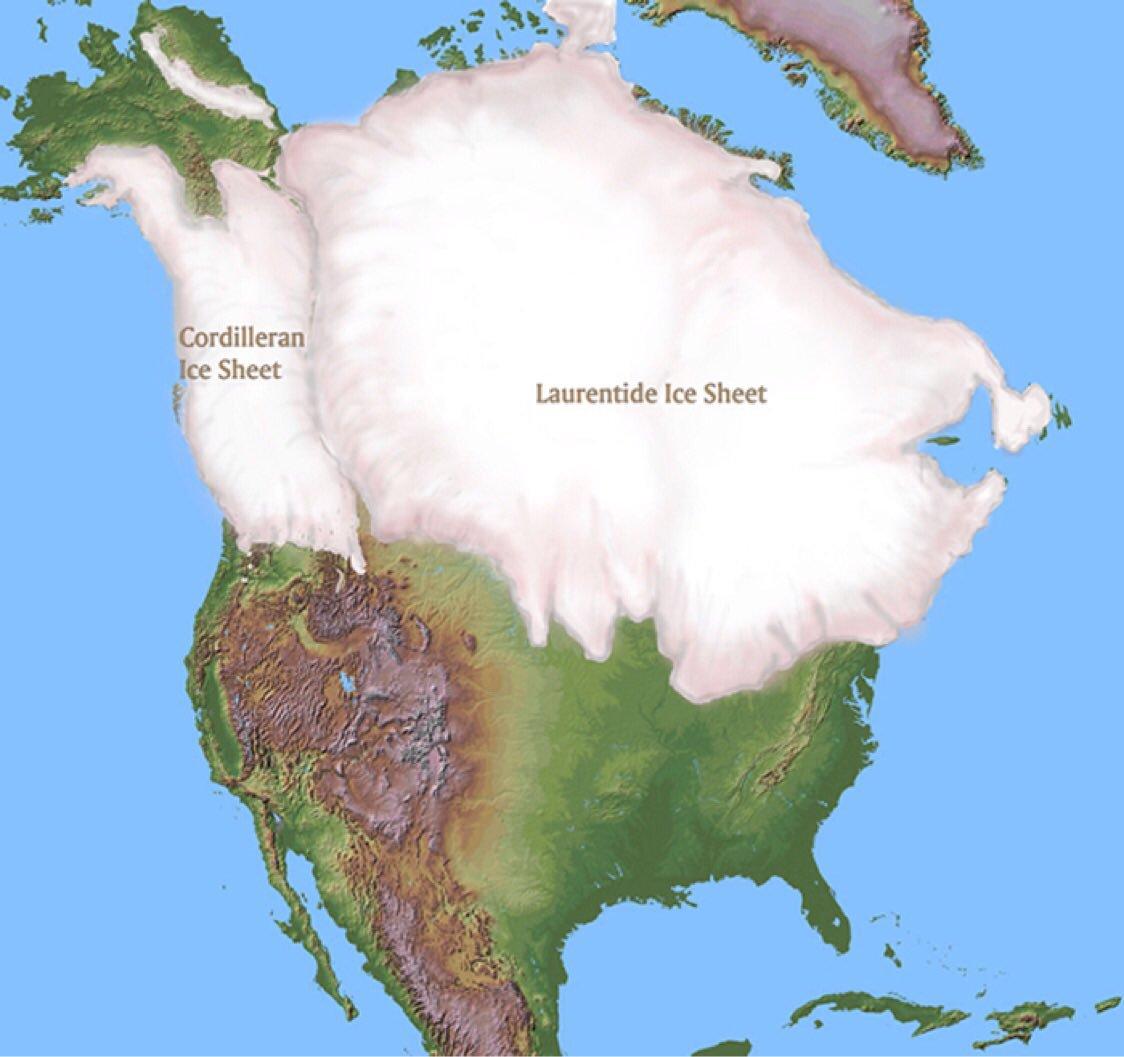Ice age N America
