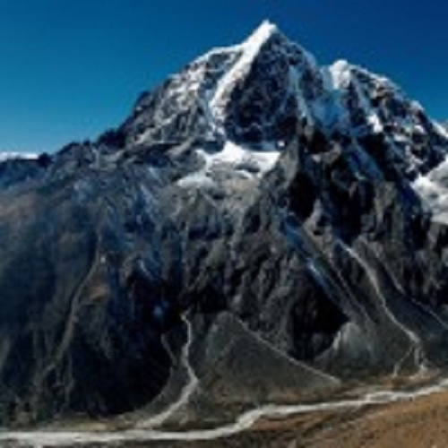 Photo of Mt. Taboche in the Khumbu Valley, Nepal