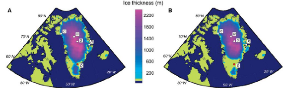 Last Interglacial Greenland Ice Sheet Simulation