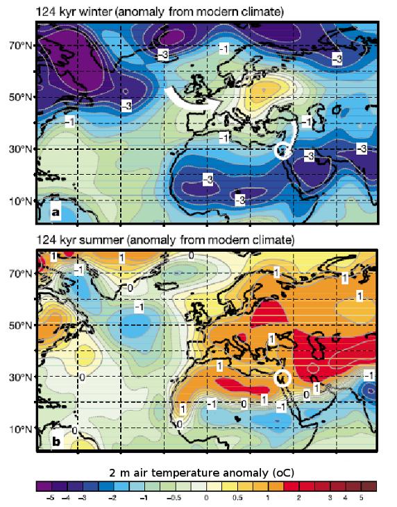 LIG Temp Anomaly - Felis et al 2004