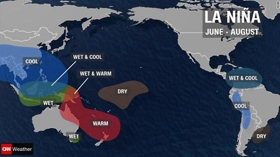 La Nina Summer Conditions