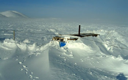 Photo of Research Station on