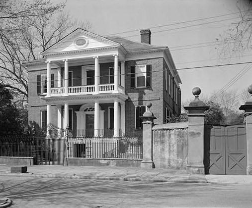 Miles Brewton house, Charleston, 1769.