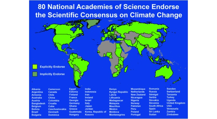 '97% Of Climate Scientists Agree' Is 100% Wrong NAS_Consensus