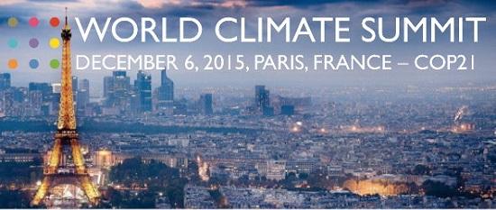Paris Climate Summit Poster