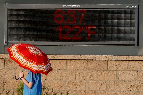 Record Temps in Phoenix AZ June 2017