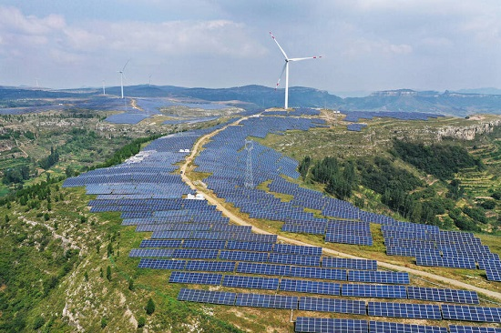 Renewable Energy Compex in China