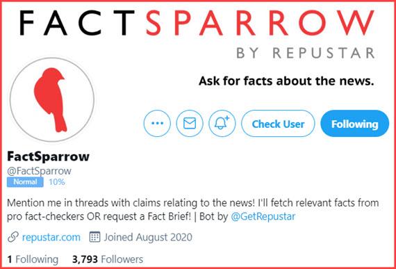 Repustar FactSparrow