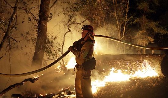 Santa Rosa CA Wildfire 10-14-17