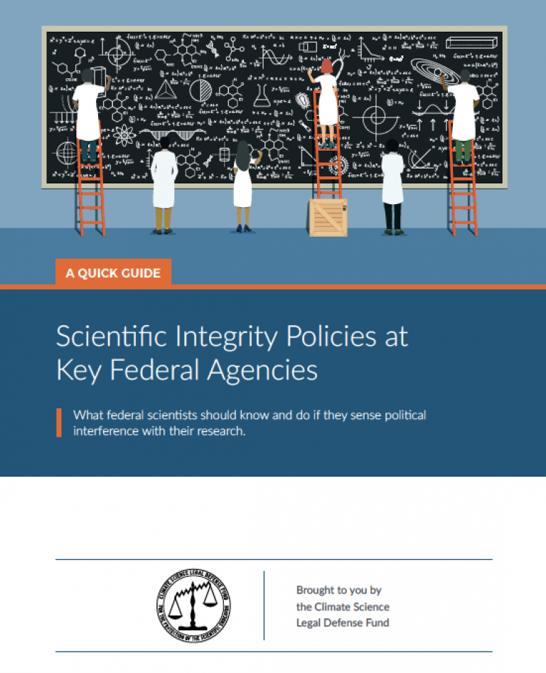 CSLDF scientific integrity guide