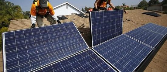 Solar Panel Isntallation