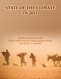 Cover of Sate of the Climate in 2011