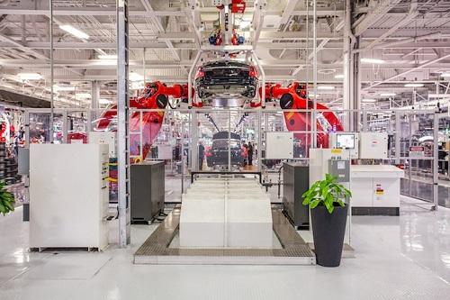 Tesla Factory Fremont CA