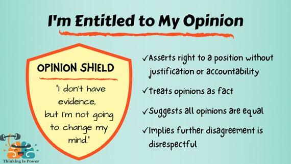 opinion shield