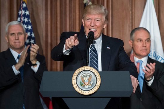Trump - Pruitt - Pence
