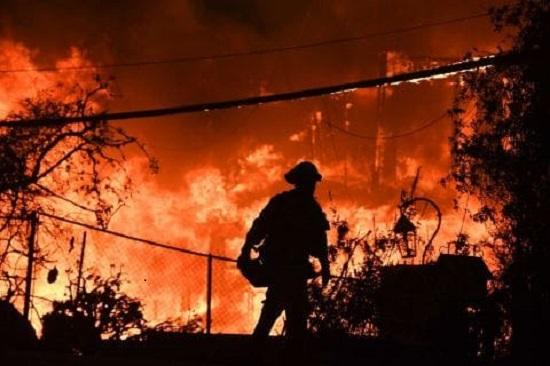 Woolsey Fire Malibu CA Nov 9 2018