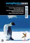 Cover of the Nov-Dec 2013 editon of Europhysics News