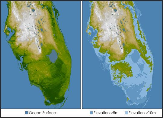 Florida - terribly prone to sea level rise