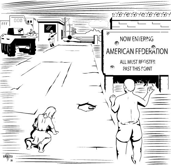 American Federation Border