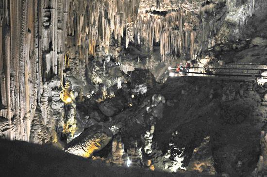 Limestone caves, Nerja, southern Spain